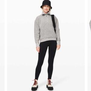 Lululemon Stand Out Sherpa Fleece 1/2 Zip Sweater
